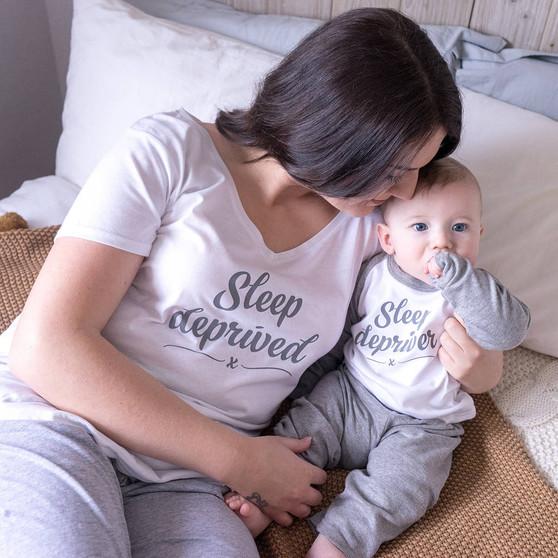 Sleep Deprived Mummy And Me Pyjama Set