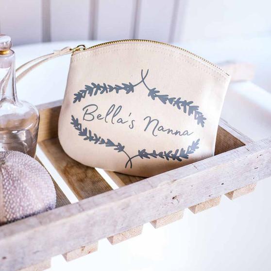 Lavender Makeup Clutch Bag