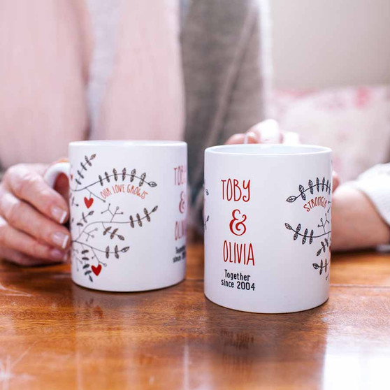 Our Love Grows Stronger Mug