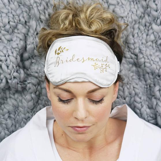 Botanical Bridesmaid Eyemask