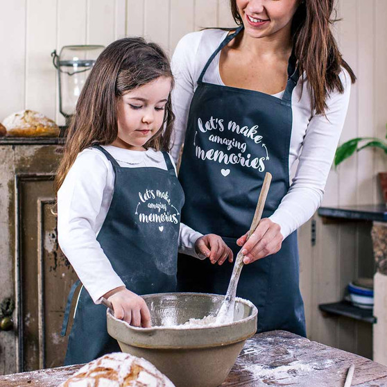 Lets Make Memories Apron Set