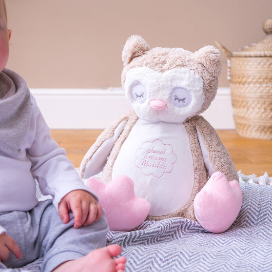 Owl Childrens Soft Toy