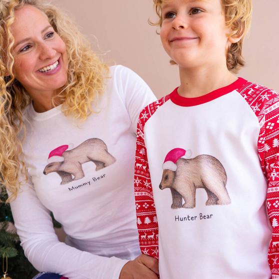 Family Bear Christmas Pyjamas