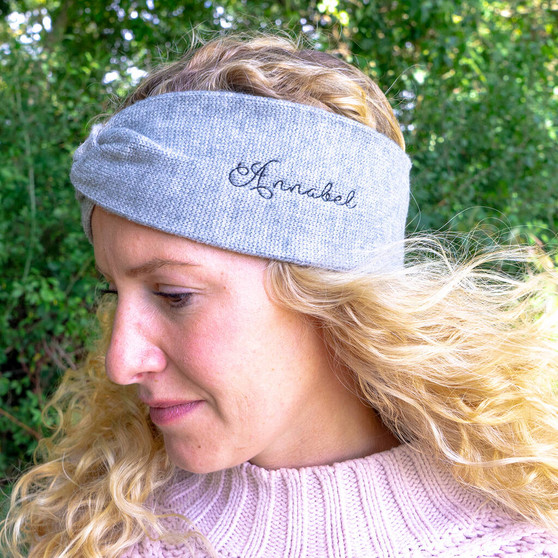 Knitted Earwarmer Headband