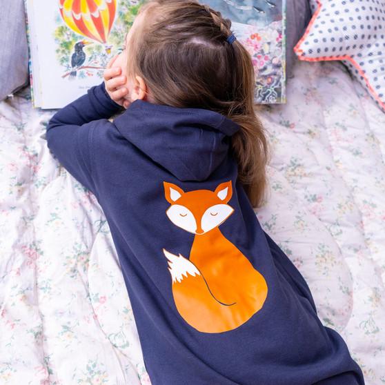 Personalised Children's Fox Onesie