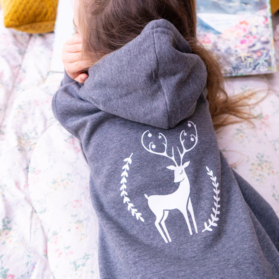 Personalised Childrens Deer Onesie