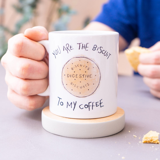 Personalised You Are The Biscuit Mug