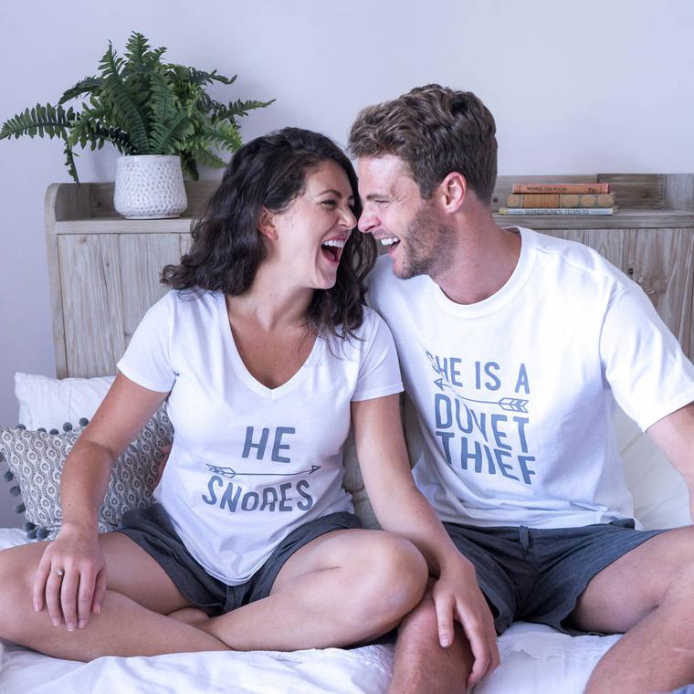 His And Her Pyjama Set