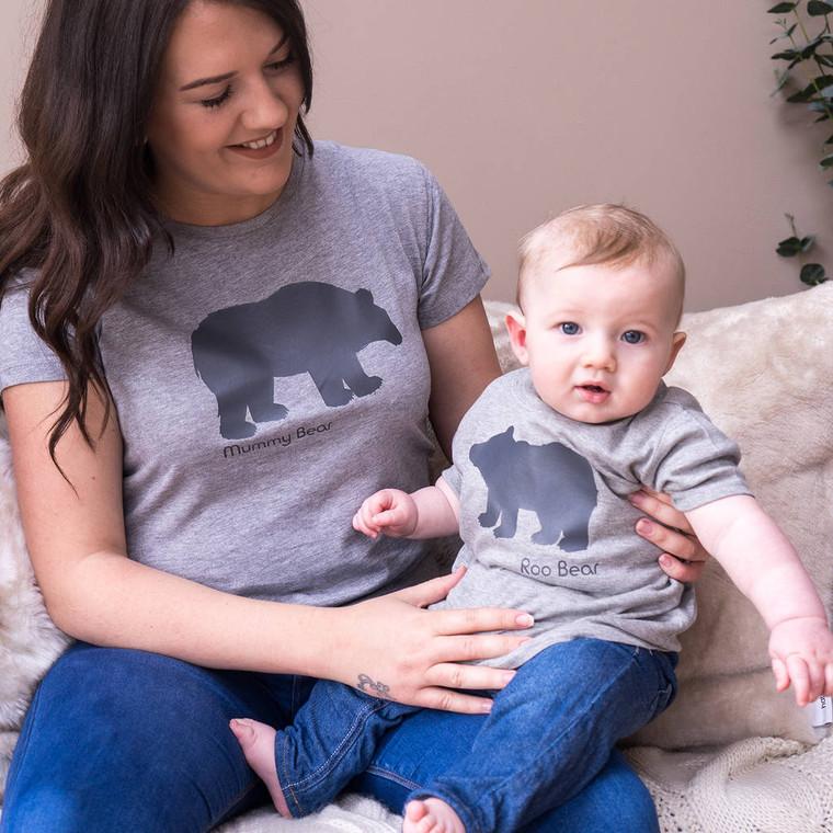 Mummy And Baby Polar Bear Set