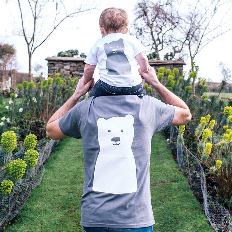 Little Bear Daddy And Me Tshirt Set