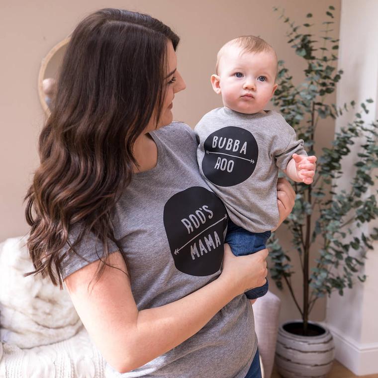 Mama And Bubba T Shirt Set