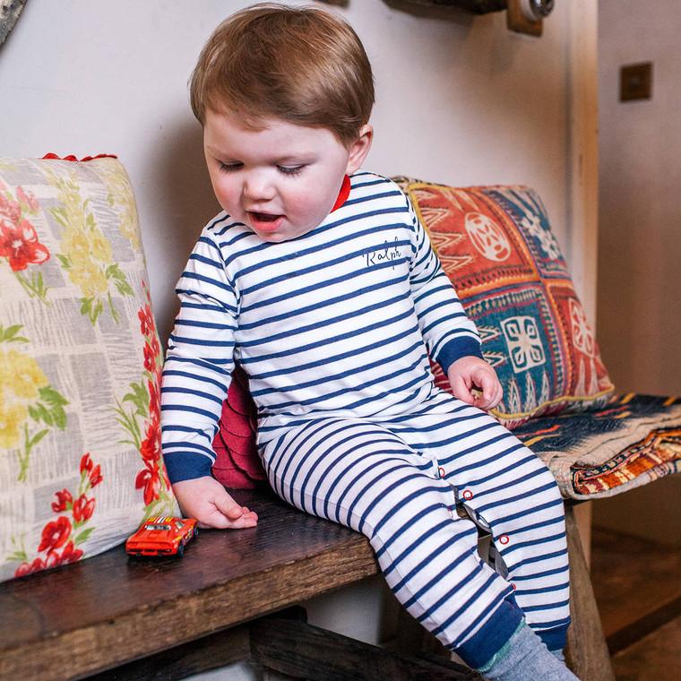 Baby Breton Romper