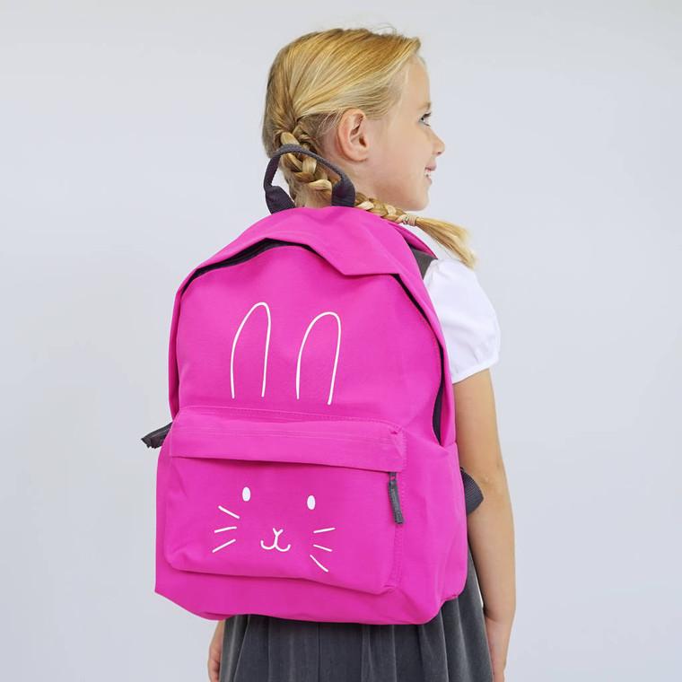 Bunny Face Children's Backpack