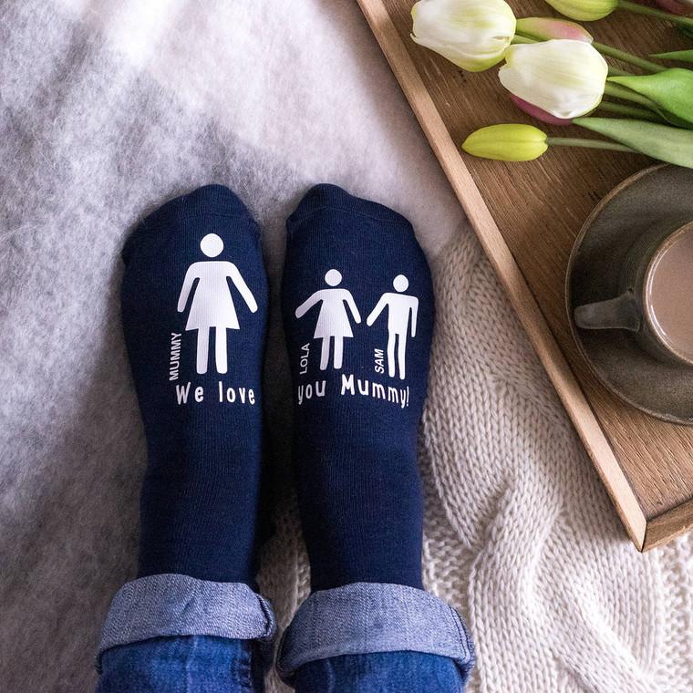 My Mummy And Me Womens Socks