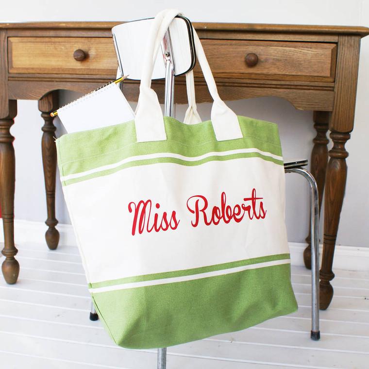 Colourful Teacher Shopper Bag