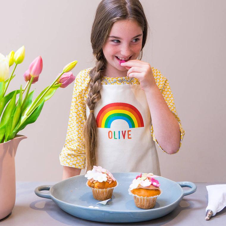 Children's Rainbow Apron