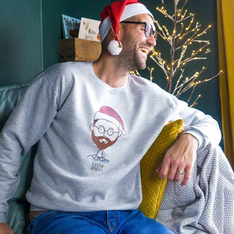 My Portrait Christmas Jumper