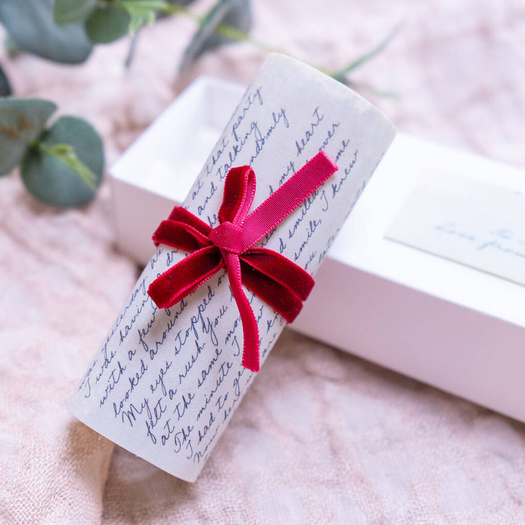 Personalised Fabric Love Letter Gift