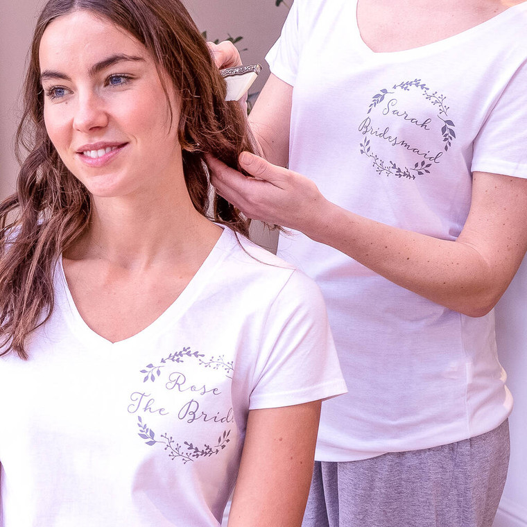 Custom Women's Wedding Pyjamas