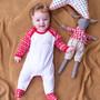 Embroidered Christmas Childrens Pyjamas