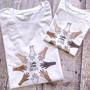 Hands Up For Equality Organic T Shirt Set