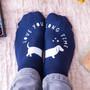 I Love You Long Time Dachshund Socks