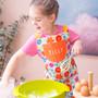 Personalised Children's Floral Cotton Apron