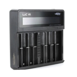 EFEST LUC V6 OLED CHARGER WHOLESALE 100% Authentic + Cheap Prices + Fast Shipping Ecig Wholesale | Vape Wholesale | Ejuice Wholesale