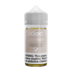 Naked 100 Cuban Blend 60ml E-Juice Wholesale | Naked 100 E-Liquid Wholesale