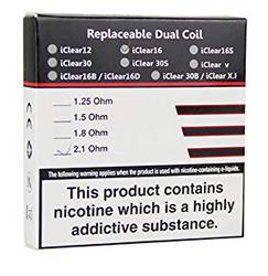 Innokin iClear16 Dual Coil - 5PK