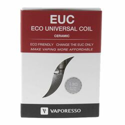 Vaporesso EUC Ceramic Replacement Coil Wholesale 100% Authentic + Cheap Prices + Fast Shipping Ecig Wholesale | Vape Wholesale | Ejuice Wholesale