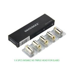 Wismec Elabo NS Replacement Coil - 5PK Wholesale   Wismec Replacement Coil Wholesale