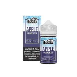 Red's Iced Grape 60ml E-Juice Wholesale | Red's Apple Ejuice Wholesale