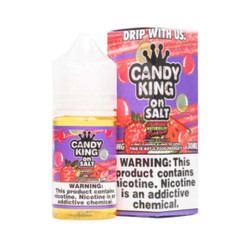 Candy King on Salt Strawberry Watermelon Bubble Gum 30ml eJuice