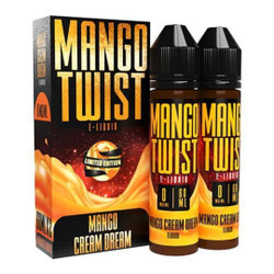 Mango Twist Mango Cream Dream 120ml E-Juice Wholesale | Twist E-liquid Wholesale