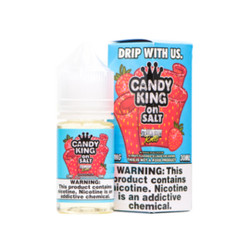 Candy King on Salt Strawberry Rolls 30ml E-Juice Wholesale | Candy King on Salt Wholesale