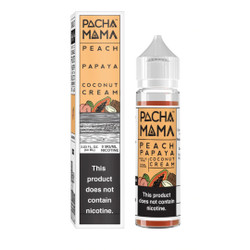 Pachamama Peach Papaya Coconut Cream 60ml eJuice
