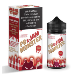 PB & Jam Monster Strawberry 100ml Wholesale | Jam Monster Vape Wholesale