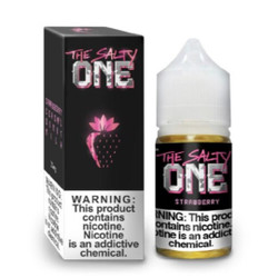 The Salty One Strawberry 30ml E-Juice Wholesale | The Salty One E-Liquid Wholesale