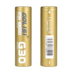 Golisi G30 3000mAh 20A 18650 Battery - 2PK Wholesale | Golisi 18650 Wholesale