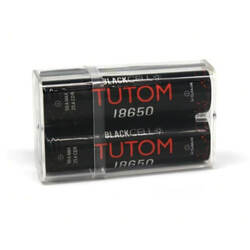 Blackcell 18650 Tutom Battery - 2PK Wholesale | Blackcell Battery Wholesale