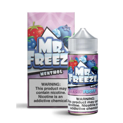 Mr.Freeze Berry Frost 100ml E-Juice Wholesale | Mr.Freeze E-Liquid Wholesale