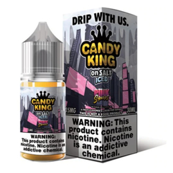 Candy King on Salt Pink Squares 30ml E-Juice Wholesale | Candy King Salt Nicotine Wholesale