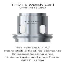 Smoktech  TFV16 Mesh Replacement Coils - 3PK | SMOK Replacement Coil Wholesale