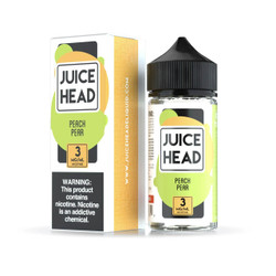 Juice Head Peach Pear 100ml E-Juice Wholesale | Juice Head Wholesale