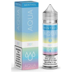 Aqua Drops Menthol 60ml E-JuMenthol Wholesale | Aqua E-Liquid Wholesale