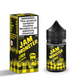 Jam Monster Lemon Salt 30ml E-Juice Wholesale