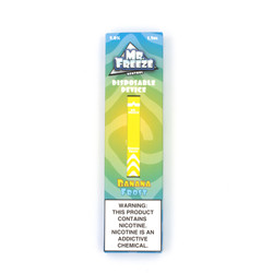 Mr.Freeze Banana Frost Disposable Vape Pod