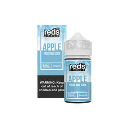 Red's Apple Fruit Mix Iced 60ml E-Juice Wholesale |  Red's Apple Wholesale