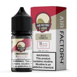 Air Factory Salt Bold Tobacco 30ml E-Juice Wholesale | Air Factory Wholesale